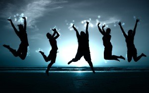 people_jump_happiness_beach_shadow_image_11066_300x188